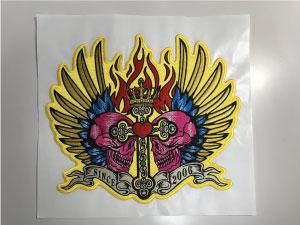 MCパッチ完成|オリジナルデザイン刺繍制作の流れ直刺繍】【MCパッチ】編