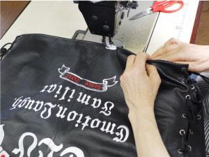 縫製もどし|オリジナルデザイン刺繍制作の流れ直刺繍】【MCパッチ】編