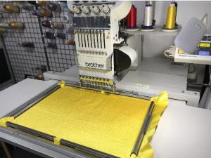 試し縫い準備|オリジナルデザイン刺繍制作の流れ直刺繍】【MCパッチ】編