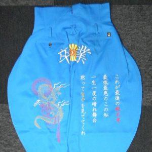 オリジナル卒ラン 刺繍作成