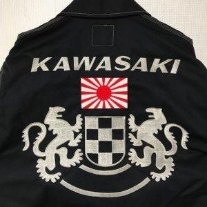 KAWASAKI オーナー様ロゴ&マーク刺繍