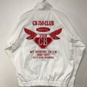 CB 750 CLUB様 G2オリジナルスイングトップ&刺繍
