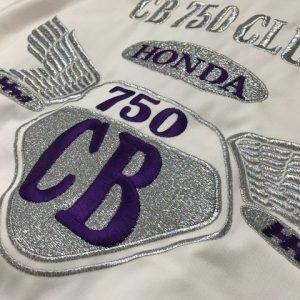 CB750CLUB様 G2オリジナルスイングトップ&ラメ刺繍