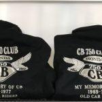 CB 750 CLUB様 冬用ブルゾン刺繍