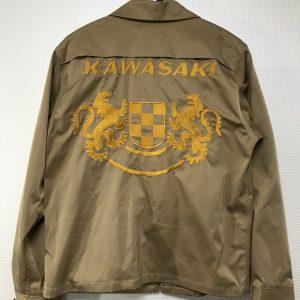 ブルゾン持込 KAWASAKI刺繍