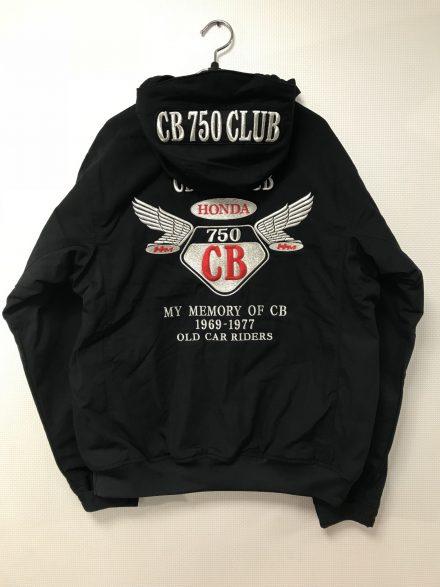 CB 750 CLUB NAGOYA様 冬用ブルゾン刺繍