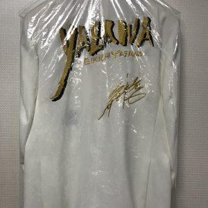 YAZAWA筆文字 サイン 白スーツ