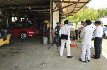 NSX車両火災!HONDA、消防、AIG損保、ショップでの検証!