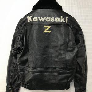 Kawasaki Z  カドヤ革ジャン持込。