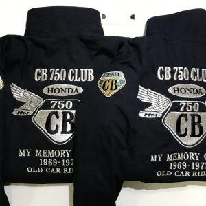 CB750CLUB NAGOYA様 コロンビア冬用ブルゾン刺繍