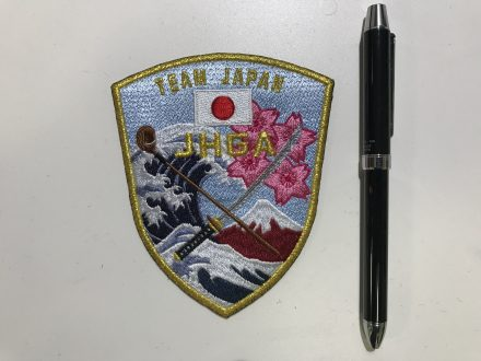 JHGA TEAM JAPAN 様 ワッペン
