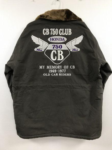 CB750CLUB NAGOYA 様 ドカジャン刺繍