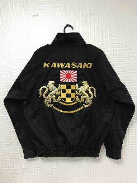 KAWASAKI 向獅子 キラキラ 旭日旗