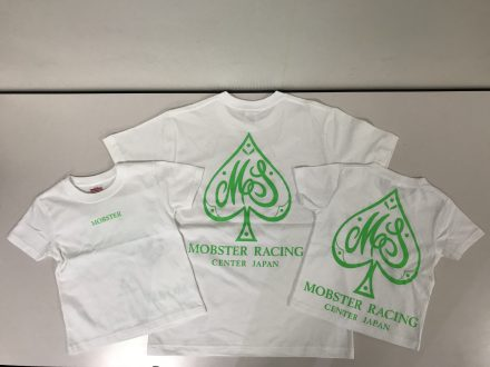MOBSTER RACING様 Tシャツプリント つなぎプリント