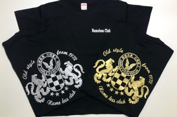 Name less club様 Tシャツプリント