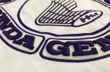 「紫連合」様「純正部品3D刺繍」