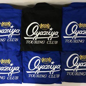Oyaziya TOURING CLUB様 G2オリジナルトップ&刺繍加工