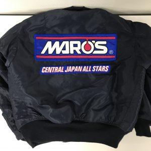 MARO'S様 MA-1持込 刺繍加工