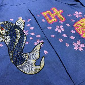 幼稚園 保育園 スモック刺繍