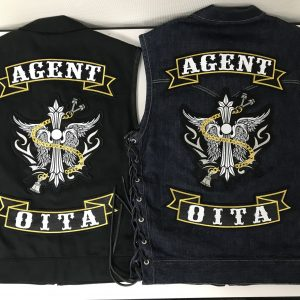 AGENT OITA様 MCパッチ作製&取り付け