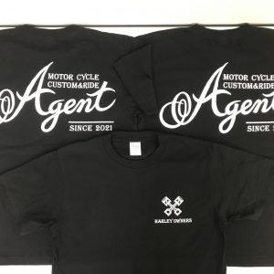 Agent HARLEY OWNERS様 Tシャツプリント加工
