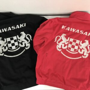 KAWASAKI ブルゾン持ち込み 刺繍加工